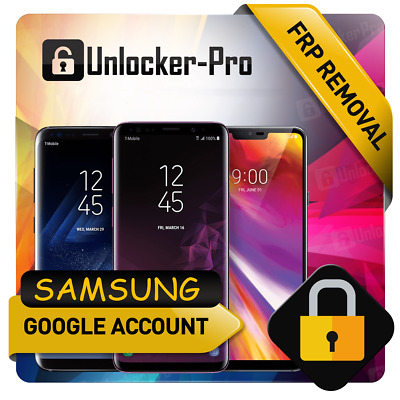 Remote Google Account Bypass Removal Reset Unlock FRP SAMSUNG Note 10 All