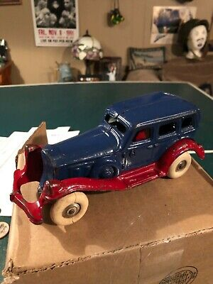ANTIQUE Cast Iron Ac Williams large take a part automotive Toy outstanding condi