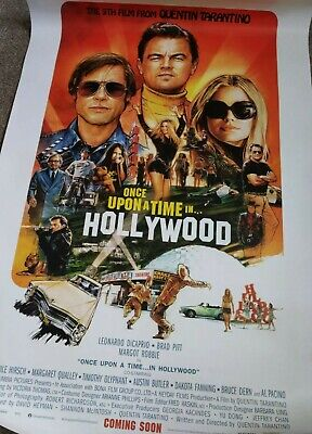 Quentin Tarantino's ONCE UPON A TIME IN HOLLYWOOD - Original Cinema Poster