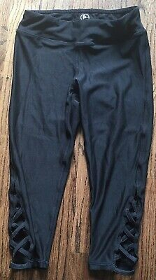 90 degree by reflex girls leggings size small 7-8