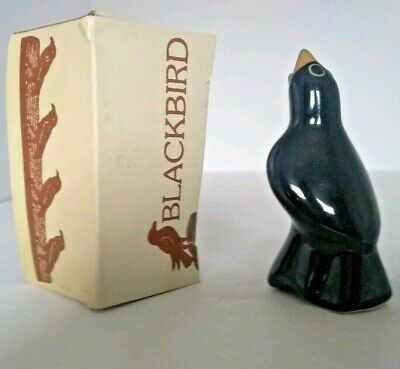 Vintage Blackbird Magpie Pie Vent Bird Steam Funnel In Original Box Baking Crust
