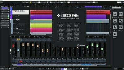 Steinberg Cubase Pro 10 Full License W/ Vienna Key eLicenser ***FAST SHIPPING***