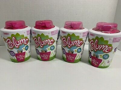 Skyrocket Blume Doll - Add Water and See Who Grows LOT OF 4 Dolls IN HAND