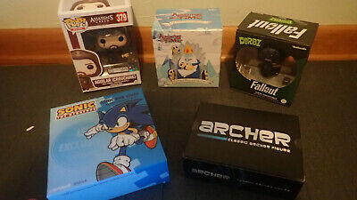 Loot Crate Lot  Brand New Archer-Aguilar-Adventure Time-Fallout-Sonic