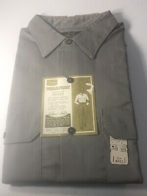 Vintage. New With Tags NWT. Sears Roebuck  Mens Long Sleeve Perma-Prest Shirt