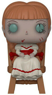 Annabelle - Annabelle In Chair - Funko Pop! Movies: (2019, Toy NUEVO)19 DISC SET