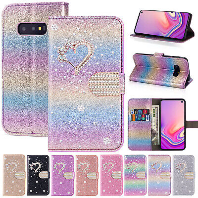 For Samsung Note 10 Plus Case S10e S9+ Note 9 Magnetic Leather Flip Wallet Cover