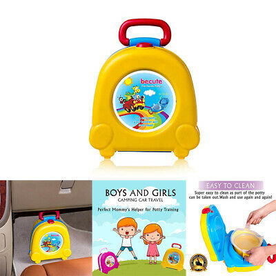 Kids Toilet Seat Baby Child Toddler Training Potty Portable Car Travel Seats