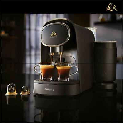 With Milk Frother LM8018/90 L'or Philips Barista Premium Capsule Coffee Machine