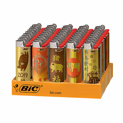 BIC Special Chinese New Year Series Lighters, 50-Count Tray