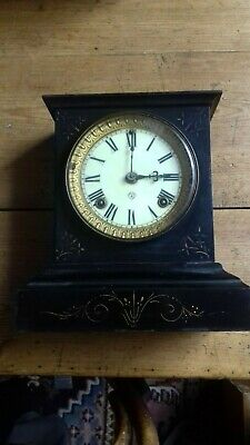 Antique. American.  'Ansonia Clock co '  8 Day shelf clock