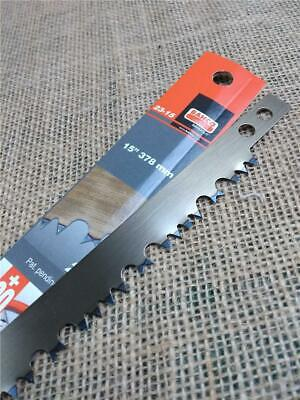 CLEARANCE Lot T83 BAHCO Raker Tooth Hard Point Bowsaw Pruning Blade Wet Cut 15""