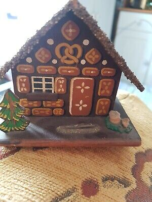 Wooden Swiss Chalet Vintage Spare Clock Or Money Box?