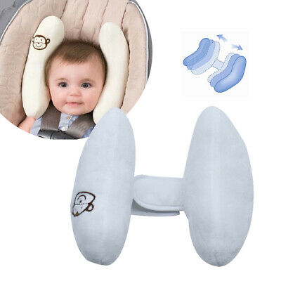 Baby Travel Pillow Cushion Adjustable Head Neck Support for Car Seat & Stroller