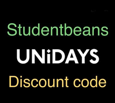 Any unidays Student Beans Online Discount  Code Topshop +++