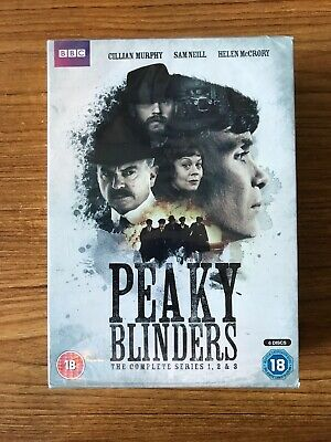 Peaky Blinders: The Complete Series 1-3 DVD (2016) Brand New Sealed