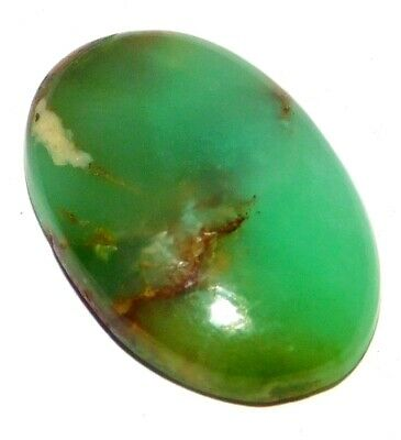 Chrysophrase Natural Loose Gemstone Cabochon Lot Green Oval 32Cts. 30x20MM 28510