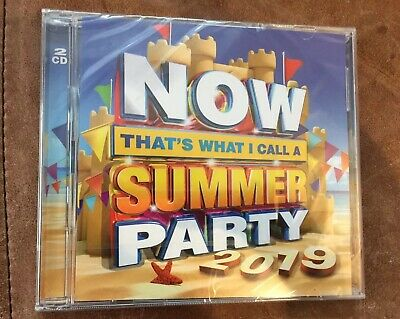 Now Thats What I Call A Summer Party 2019 Two CD Set Brand New Sealed