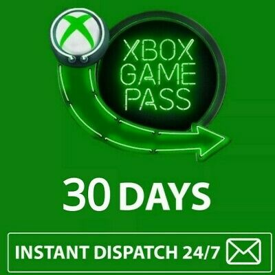 Xbox Game Pass 30 Day (1 Month) Subscription Code Xbox One INSTANT DISPATCH