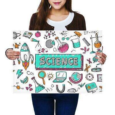 A2 | Science Chemestry Physics Size A2 Poster Print Photo Art Student Gift #2780