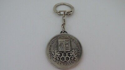 Llavero Key Ring Oficina Municipal de Sports Roubaix/ Escudo/ Arms Top