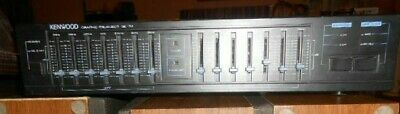 Kenwood Graphic Equalizer 7 Band Stereo Ge-34 Sound Shaper