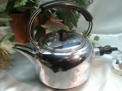 """Vintage 1960""""s Retro Electric Kettle  Descaled  Fully Working - Great Condition"""
