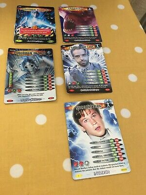 doctor who battles in time trading cards.