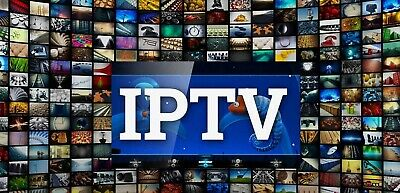 IPTV 12 months Subscription Premium All smart devices, Samsung, LG, Android, MAG