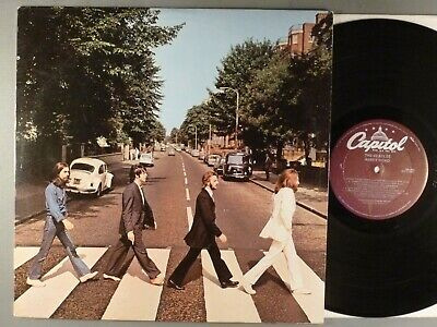 Beatles, The  Abbey Road   Later Issue Purple Capitol Label