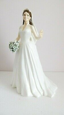 Royal Staffordshire Catherine: The Royal Bride - Boxed