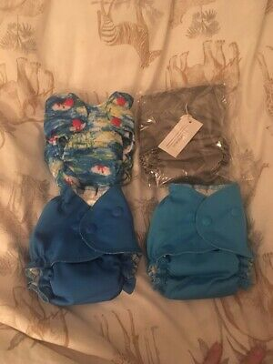 Smartbottoms and Miababy Newborn AIO Cloth Nappies