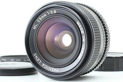 ***Mint*** Yashica ML 28mm f2.8 CY Mount Wide Angle Lens From Japan #682