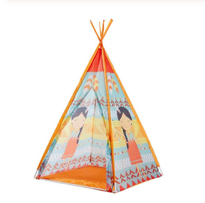 Folding Play Tent Toys Triangular Cone Children Playhouse Indian Girls Tents Toy