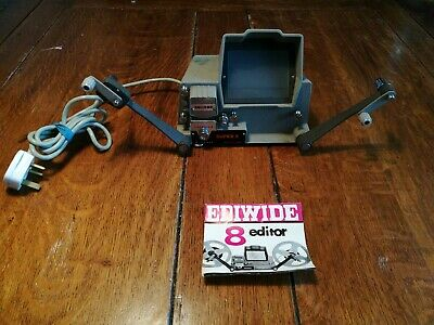 Ediwide Super 8mm Editor soligor with Instructions