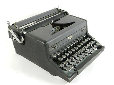 Maquina De Escribir Royal Arrow Año 1942  Typewriter Schreibmaschine