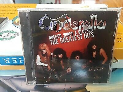 Cinderella Rocked Wired & Bluesed The Greatest Hits CD 2005 Mercury Records