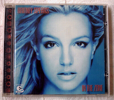 Britney Spears - Cd - In The Zone - Me Against The Music (Madonna) - Toxic -2003