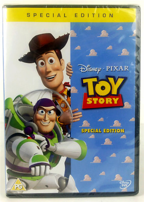 Toy Story Special Edition DVD Region 2 PAL New and Sealed