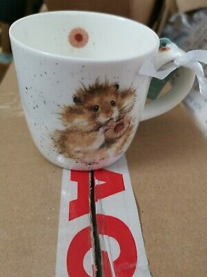 Wrendale by Royal Worcester Diet Starts Tomorrow Hamster Mug, Fine bone China