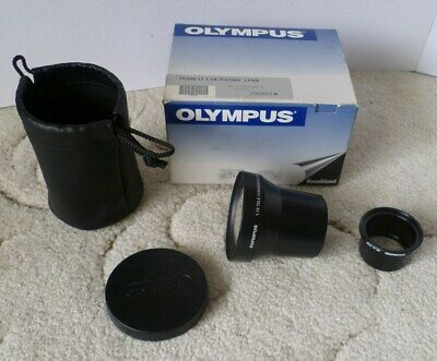 Olympus TCON-17 1.7x converter lens, 55mm thread with 45.6mm adapter