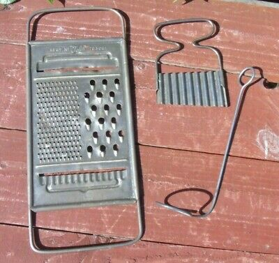 Vintage Kitchenalia Tala Grater, herb chopper and boiled egg lifter