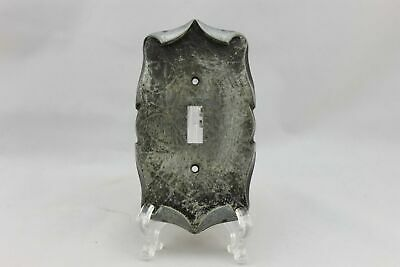 "LP-1922AI Amerock 3 1/4"" Gray Carriage House Metal Vintage Switch Plate"