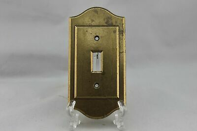 "LP-1847 2 7/8"" Brass Brass Vintage Switch Plate"