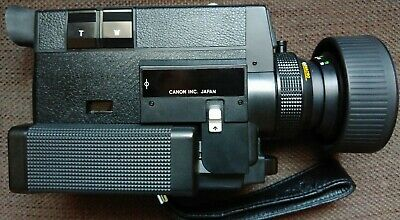 Canon 512 Xl Autozoom Electronic Super 8 Camera