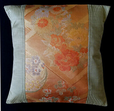 Vintage Obi Cushion Cover Handmade Pillow COVER P968