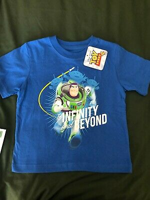 Toy Story 4 Buzz Lightyear T Shirt Size  2T To Infinity And Beyond