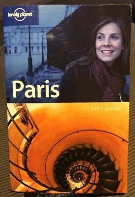 PARIS City Guide BOOK - Lonely Planet - TRAVEL - BACKPACKING