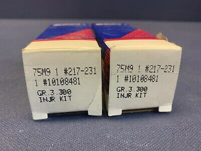 QTY 2 - Lot of AcDelco 217-231 Fuel Injector