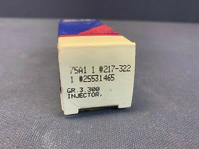 AcDelco 217-322 Multi Port Fuel Injector
